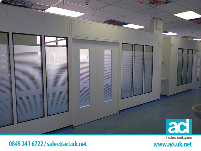 Our Work Industrial Partition Systems