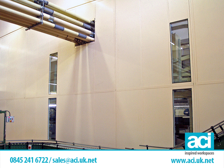 monobloc partitions industrial partition systems